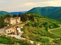 Castello del Trebbio -Tenuta dei Cavalieri Degustazione vini e pranzo